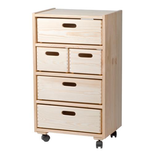 meuble 5 tiroirs pin 44 5cm x prof 31cm x ht 77cm la boissellerie fabricant d 39 objets en. Black Bedroom Furniture Sets. Home Design Ideas